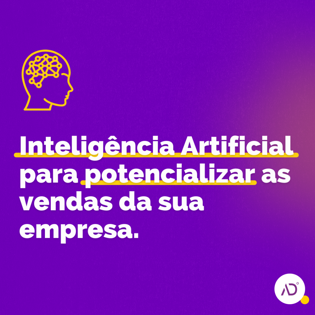 Inteligência artificial e Vendas online